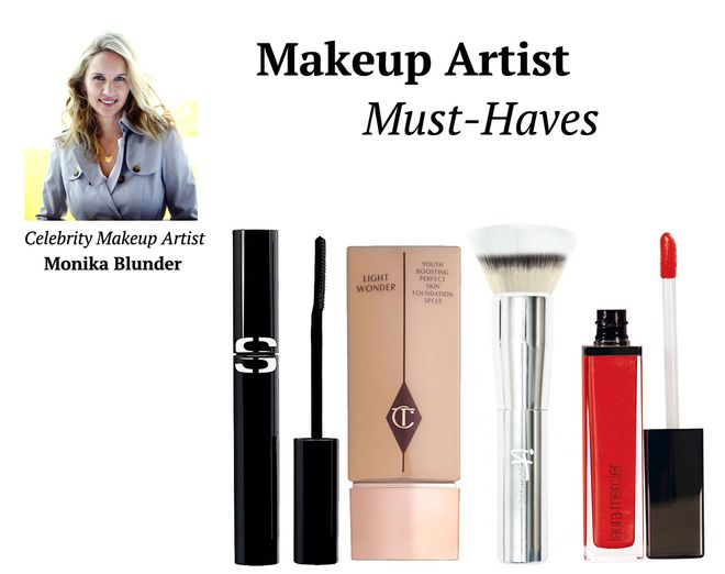 makeup artist must haves inside monika blunders kit - Makeup Must Haves