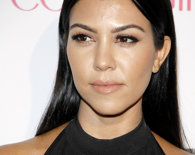 Kourtney Kardashian's Shiny Hair Secret Is so Easy Yet Effective