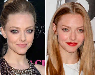 Amanda Seyfried Perfects Two Makeup Trends