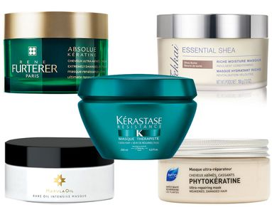 7 Masks That Deliver Seriously Healthy Hair