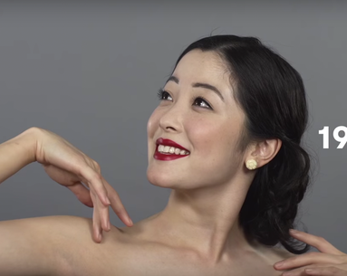 This Is What 100 Years of Chinese Beauty Looks Like in Less Than a Minute