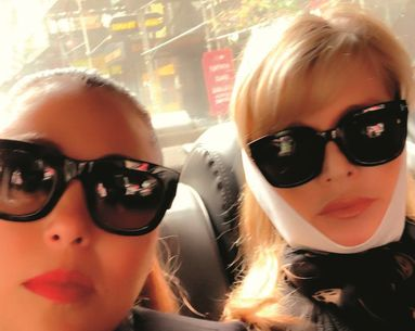 Makeup Artist Sandy Linter Shares A Glimpse Into Her Lower-Facelift Recovery