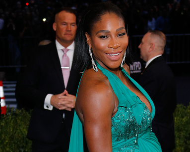 Serena Williams Shows Off Her 'Pregnancy Lips'
