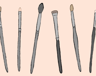 The 6 Eye Shadow Brush Shapes, Explained