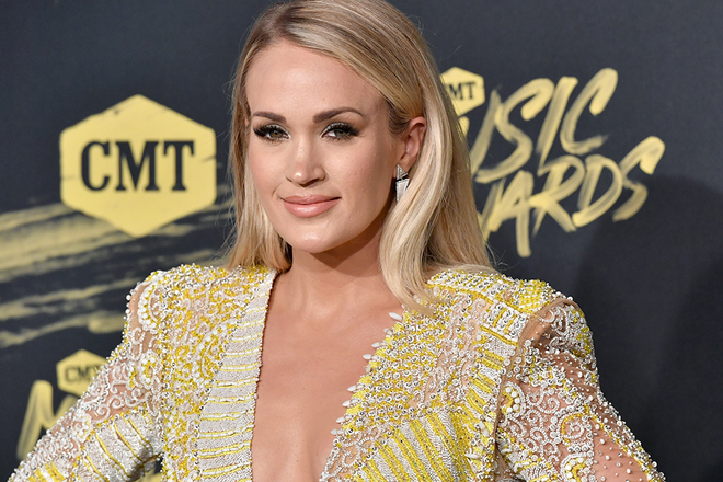 Carrie Underwood Denies Facial Plastic Surgery Celebrity