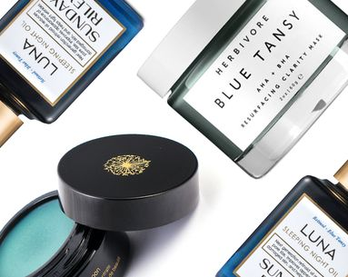 The Cool Reason Some of the Best Skin Care Products Are Blue