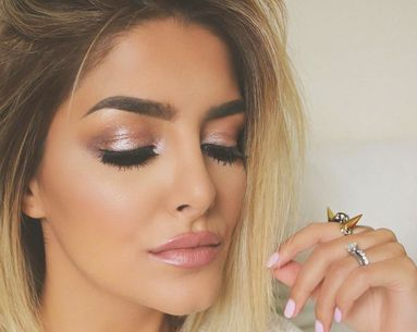 4 Sophisticated Ways to Wear Shimmery Makeup