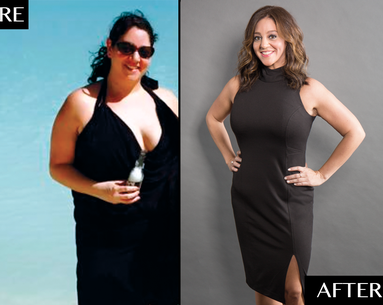 How This Woman Lost 75 Pounds and 6 Dress Sizes