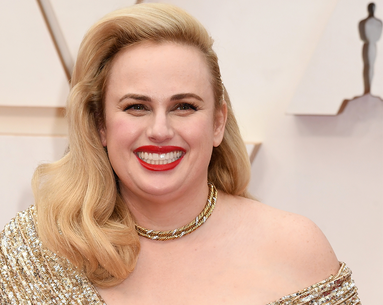 The Exact Red Lipstick Rebel Wilson Wore to Woo Brad Pitt at the Oscars