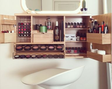 This Super Stylish Organizer Is, Hands Down, the Best Way to Store Your Makeup
