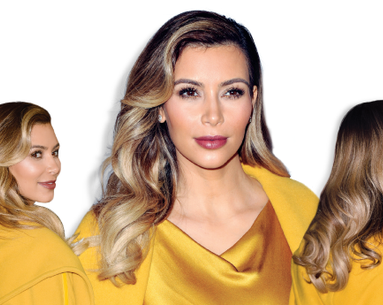 Get the Look: Kim Kardashian's Perfect Blowout