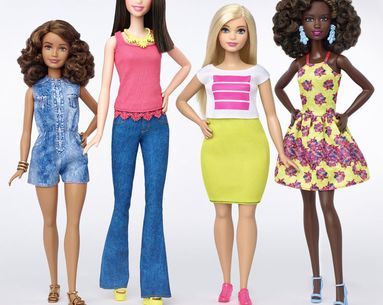 Barbie Gets Long Overdue Makeover, Finally Embraces Curves