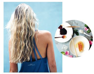 An Easy DIY Hair Mask That Will Heal Your Hair