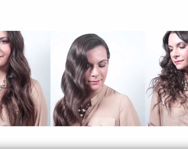 3 Different Ways to Curl Long Hair