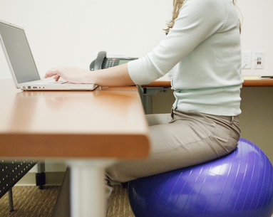 Does Sitting on an Exercise Ball Make a Difference?