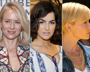 Three Celebrities Get One Cut
