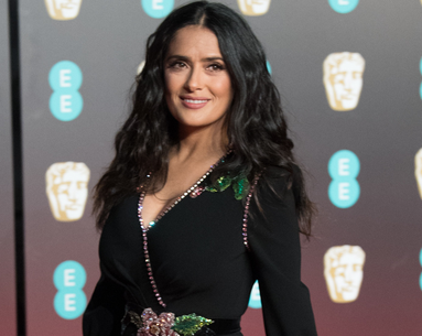 Salma Hayek Goes Blond, Again