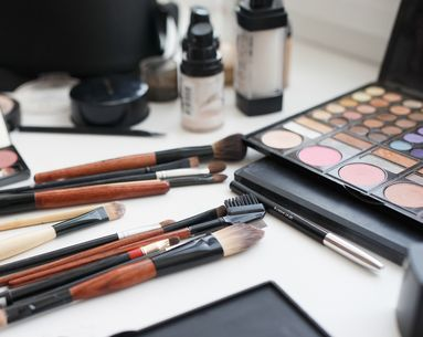 What a Beauty Editor's Vanity Looks Like