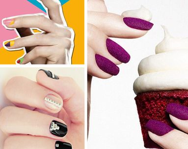 Noteworthy Nail Trends: Texture