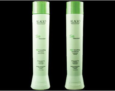 A Silk-Spiked Shampoo And Conditioner Duo