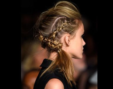 Fall Hair How-to: Braided Pompadour