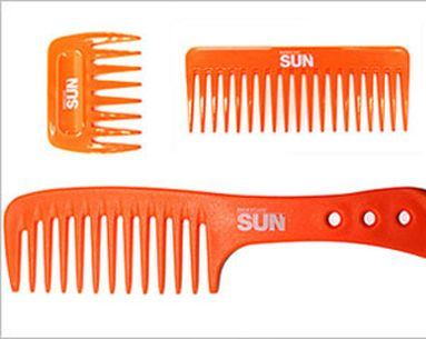 Color-Saving Comb Combats The Sun