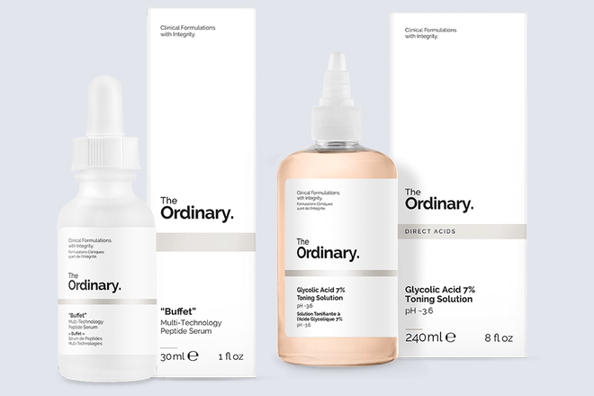 Beauty editor the ordinary
