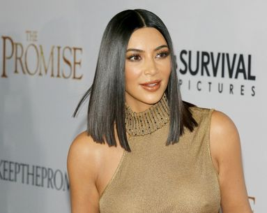 How to Get Kim Kardashian West's Super Straight, Shiny Hair