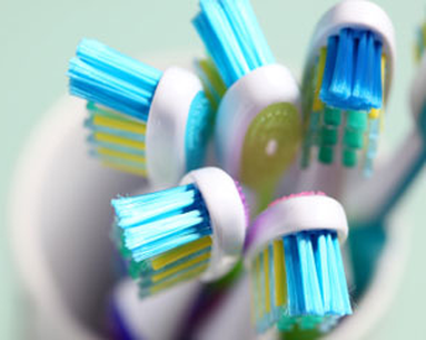 A Clean Toothbrush Equals Healthy Gums