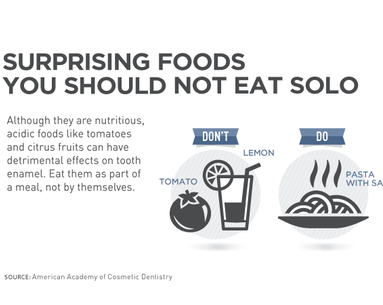 Infographic: Foods You Should Never Eat Solo