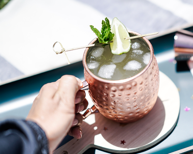 Moscow Mules Could Be Dangerous If Served This Way