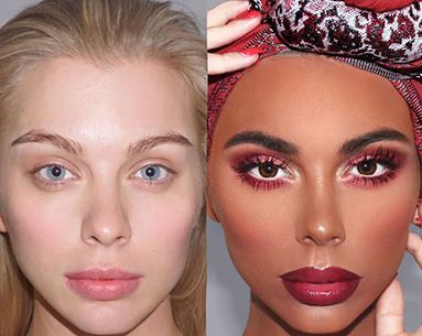 """The Makeup Artist Behind That """"Blackface"""" Image Says His Artwork Was Totally Misinterpreted By the Public"""