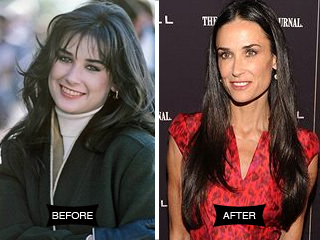 Insider Secrets: Demi Moore's Hot Mom Makeover - NewBeauty