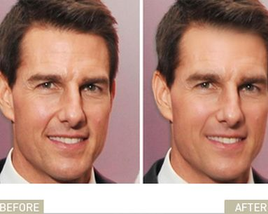 Tom Cruise Says No To Plastic Surgery