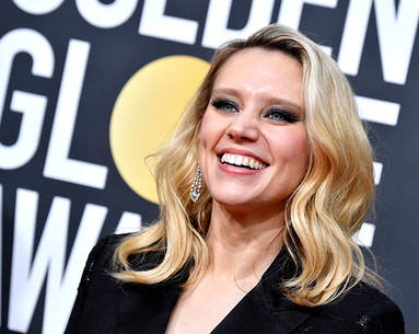 Kate McKinnon's Golden Globes' Gun-Metal Eye Look Is So Good—Here's How to Get It