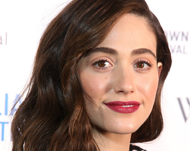 The Product Emmy Rossum Swears By to Style Her Natural Hair