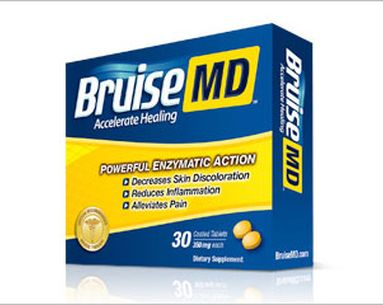 Better Bruise Healing With Expeditious Enzymes