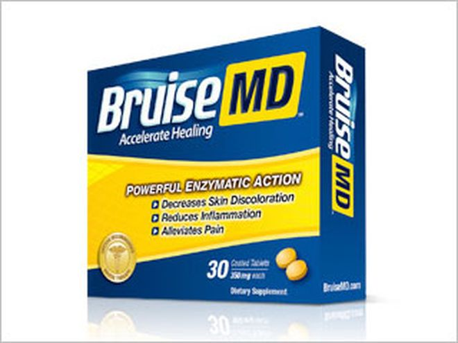 Better bruise healing with expeditious enzymes - Cosmetic