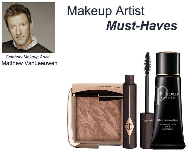 Makeup Artist Must Haves: Inside Matthew VanLeeuwen's Kit