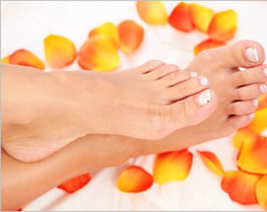 Treat Your Feet To Light Therapy
