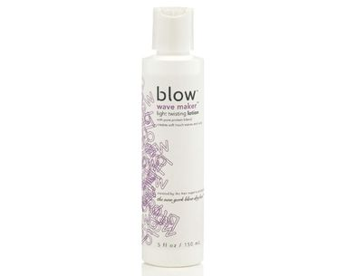 A Blow-Dry Buff's Twist On Wavy Hair
