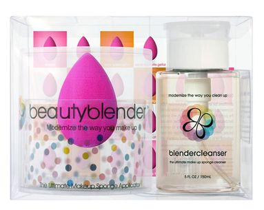 A Cute Cosmetic Tool And Its Clever Cleanser