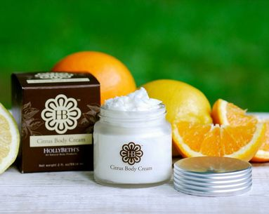 Organic Body Cream With Citrus Strength