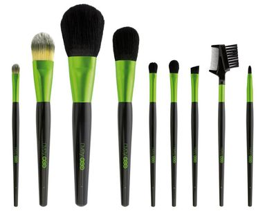 Compostable Cosmetic Brushes For Eco-Friendlier Makeup Application