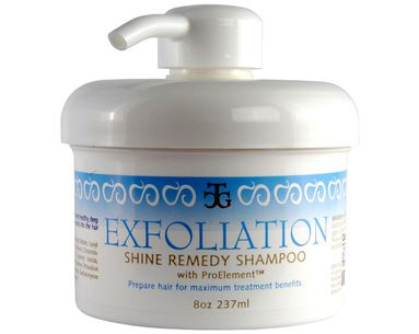 Exfoliate Your Over-Styled Hair