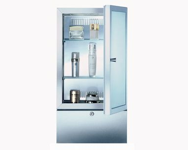 A Medicine Cabinet Made Specifically For Storing Skincare