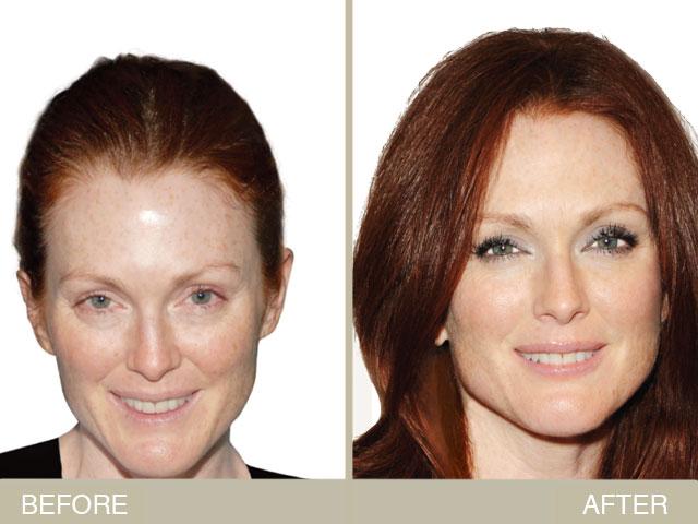 Julianne Moore Makeup Makeover For Fair Skin Newbeauty