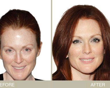 Julianne Moore: Makeup Makeover For Fair Skin