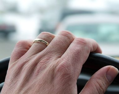 Sorry Mom, Driving is Aging Your Hands