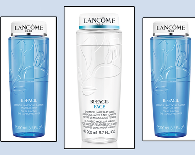 Love Lancôme's Cult-Classic Bi-Facil Eye Makeup Remover? Meet Bi-Facil Face